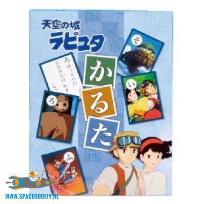 Laputa Castle in the Sky karuta card game