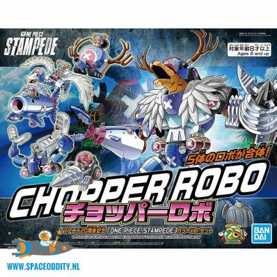 One Piece Stampede bouwpakket Chopper Robo