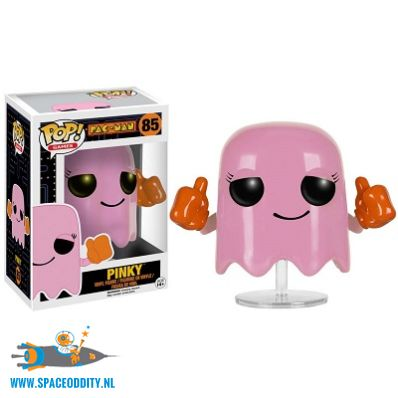 Pop! Games Pac-Man vinyl figuur Pinky