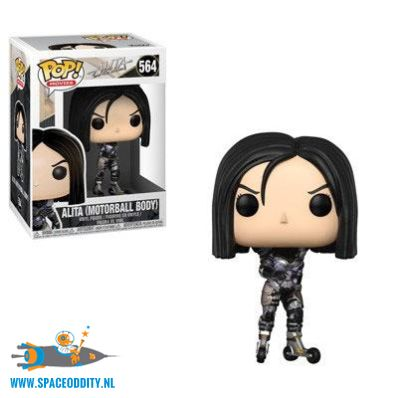 ​Pop! Movies Alita Battle Angel vinyl figuur Alita (motorball body)