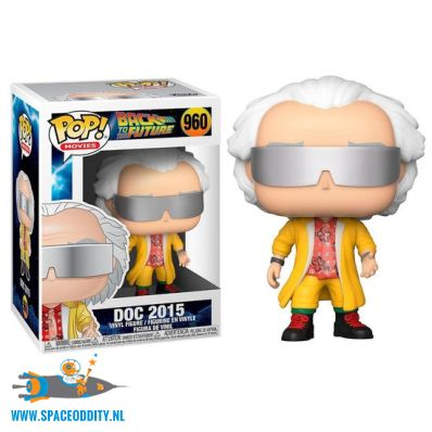 Pop! Movies Back To The Future vinyl figuur Doc 2015
