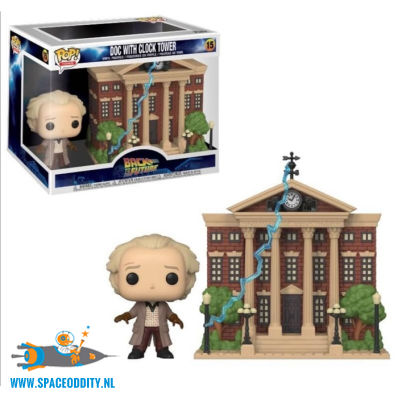 Pop! Movies Back To The Future vinyl figuur Doc with clock tower
