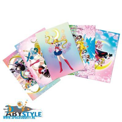 Sailor Moon ansichtkaarten set