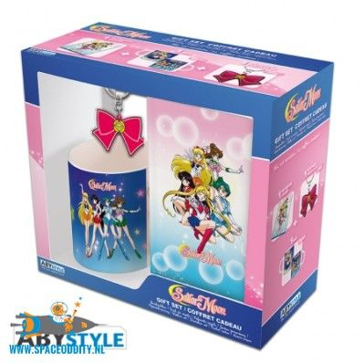 Sailor Moon beker/mok gift box sailor warriors