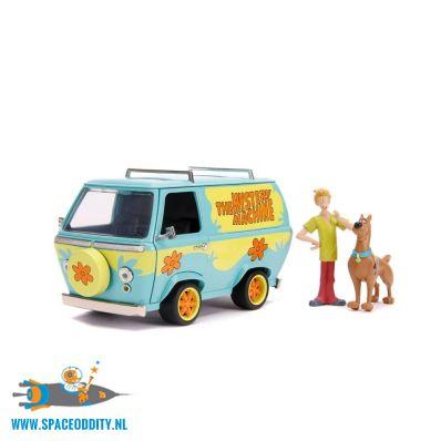 Scooby Doo die-cast Mystery Van 1/24 schaal met 2 diecast figuren
