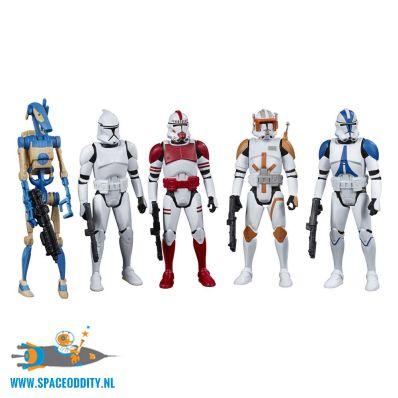 Star Wars actiefiguren 5-pack Galactic Republic