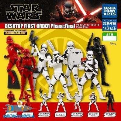 Star Wars First Order Desktop mini figuren set van 7
