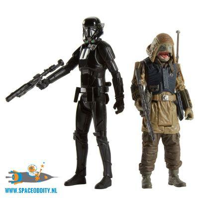 te koop-winkel-nederland-amsterdam-Star Wars Rogue One actiefiguren Rebel Commando Pao & Imperial Death Trooper