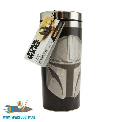 Star Wars The Mandalorian travel mug
