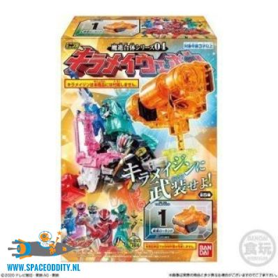 Super Sentai Mashin Gattai Series KIramager mini-pla kiramei weapon set