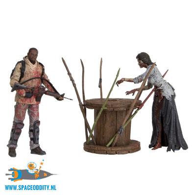 Amsterdam action figure store The Walking Dead Morgan with Impaled Walker