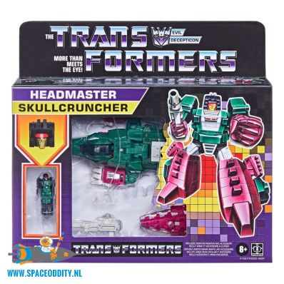 amsterdam-retro-speelgoed-winkel-Transformers Generations retro Headmaster Skullcruncher
