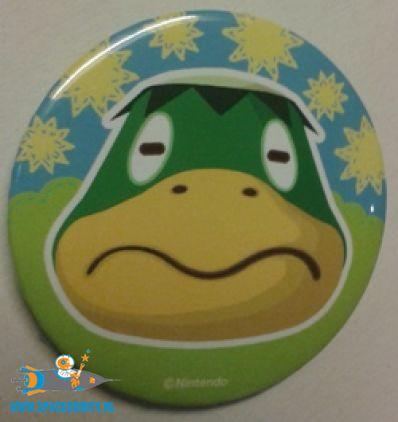 Animal Crossing button Kapp'n