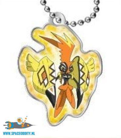 Pokemon Sun and Moon metal keychain Tapu Koko