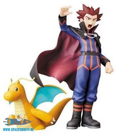 Pokemon perfect posing products Lance & Dragonite pvc figuren