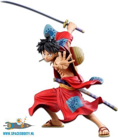 anime-speelgoed-winkel-amsterdam-nederland-One Piece Master Stars Piece Monkey D. Luffy two dimensions pvc figuur