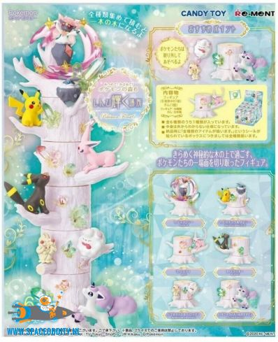 Pokemon forest 6 Re-Ment set van 6 verschillende doosjes