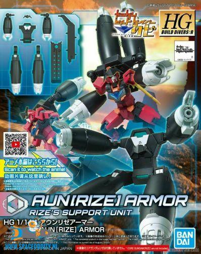 Gundam Build Divers Re:Rise Aun (Rize) Armor