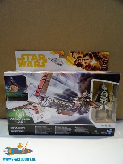 Star Wars Force Link Han Solo's Enfys Nest's Swoop Bike