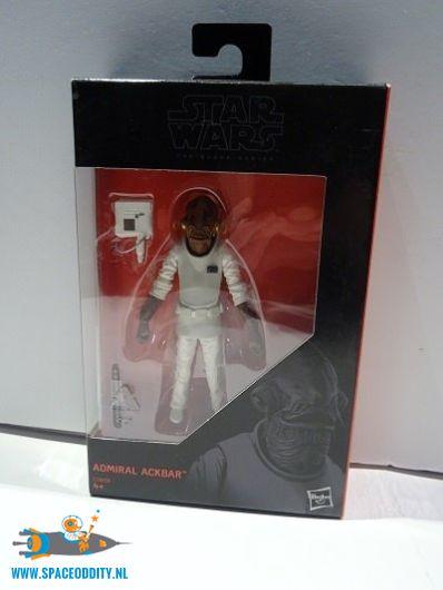 Star Wars The Black Series actiefiguur Admiral Ackbar 10 cm