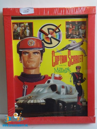 Captain Scarlet and the Mysterions klok