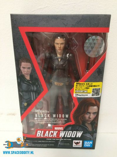 Marvel Black Widow S.H.Figuarts actiefiguur