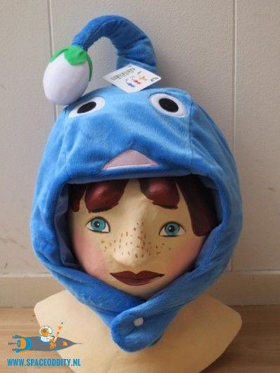 Pikmin Beanie / Muts blauw met bloemknop
