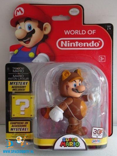 Super Mario actiefiguur Tanooki Mario
