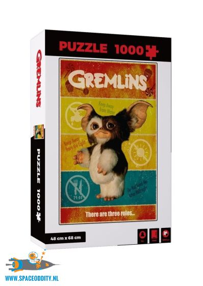 Gremlins puzzel met een afbeelding van Gizmo
