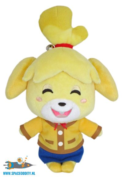 Animal Crossing pluche Isabelle smiling