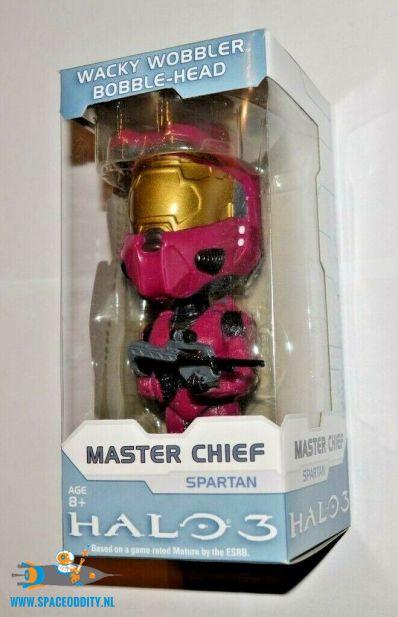 Halo 3 bobble head figuur Master Chief Pink Spartan 15 cm