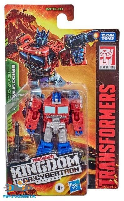 Transformers Kingdom core class Optimus Prime