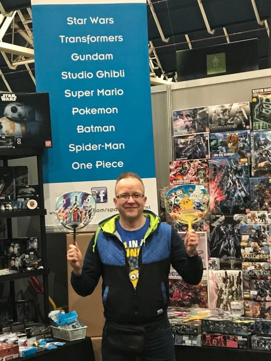 Aankopen afhalen op Heroes Ducth Comic Con 23 & 24 november
