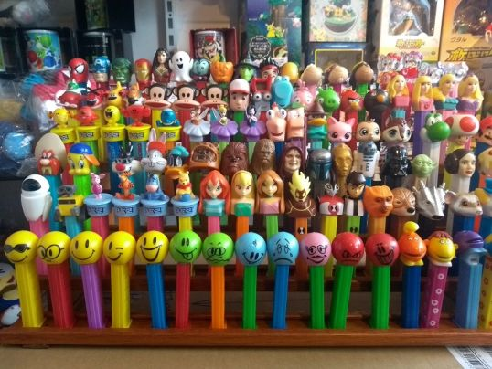 PEZ collectie