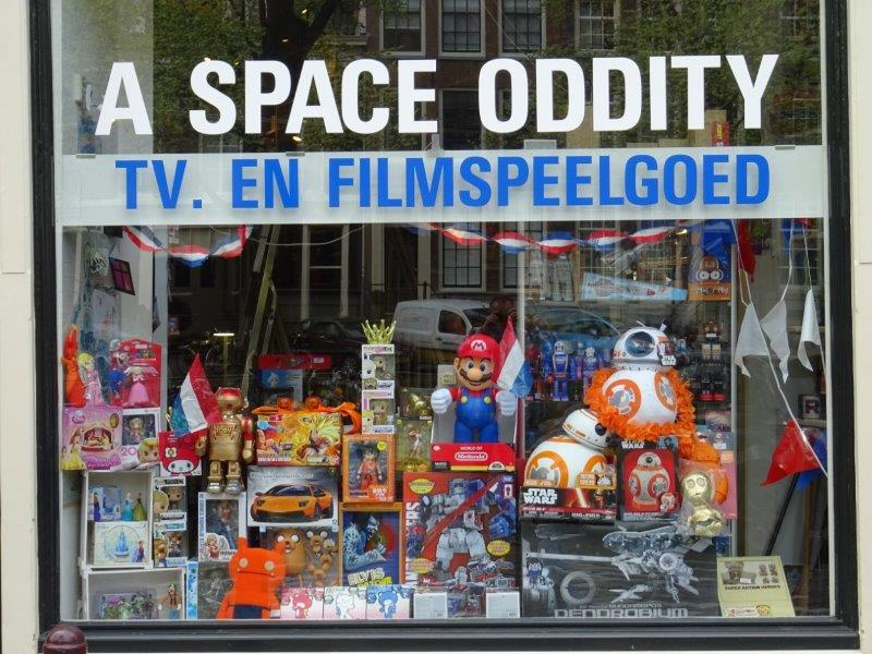 A Space Oddity Amsterdam Action Figures Toy Store A Space Oddity Tv